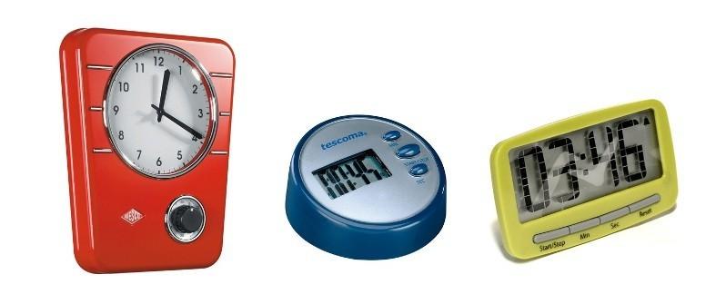 Часы со встроенным хронометром и электронные таймеры