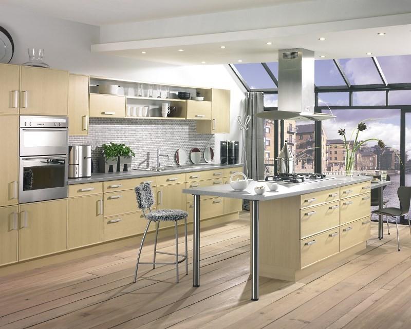 Потолок на кухне в стиле Модерн