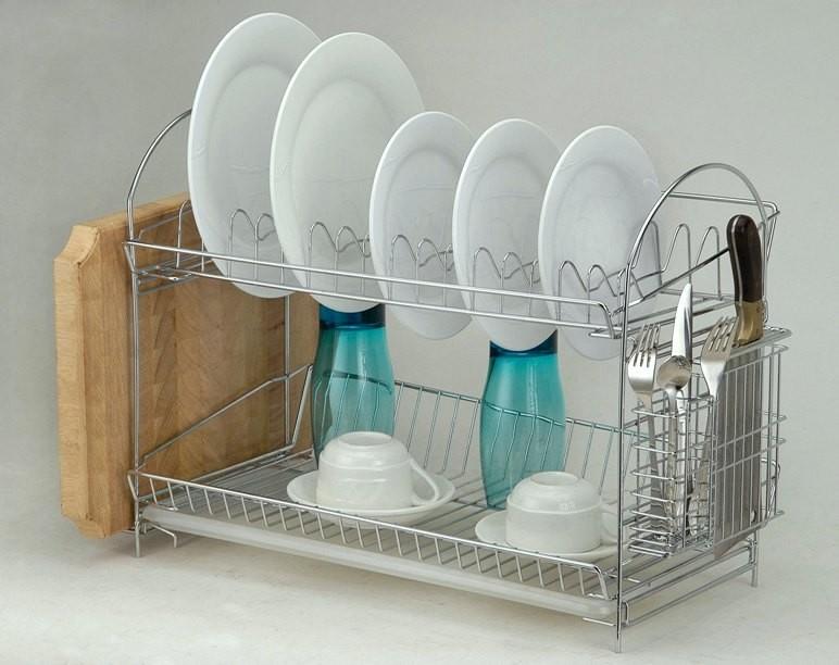Классическая настольная сушилка для посуды