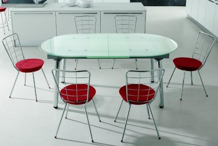 Овальные столы для кухни