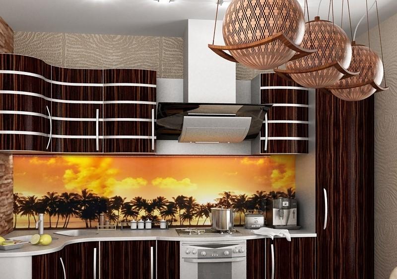 Кухни дизайн в африканском стиле