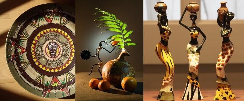 Предметы декора для кухни в африканском стиле