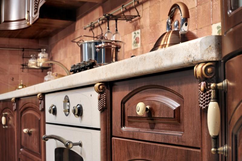 Сборка кухни мадлен угловая