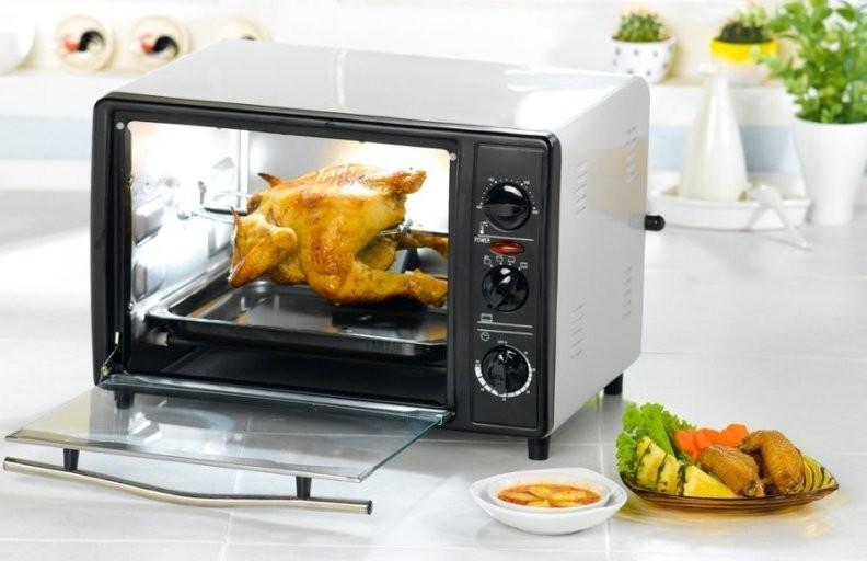 Микроволновая печь с грилем