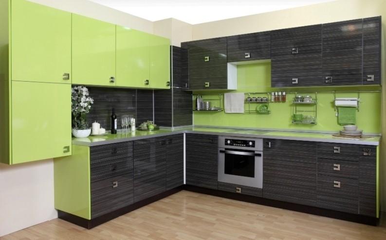 Кухонный гарнитур угловой пластиковый фасад купит модульные кухни угловые