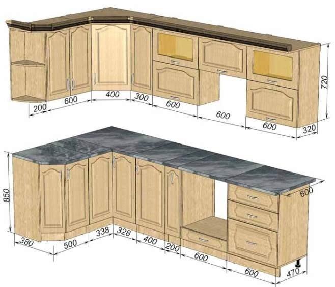 Как самому сделать шкафы для кухни 93