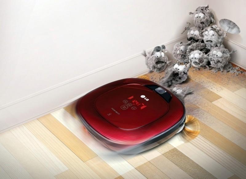 Робот пылесос LG