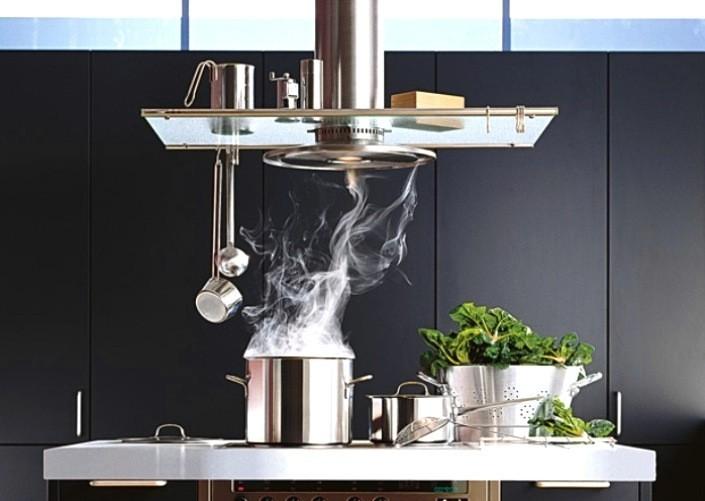 Вентилятор на кухне