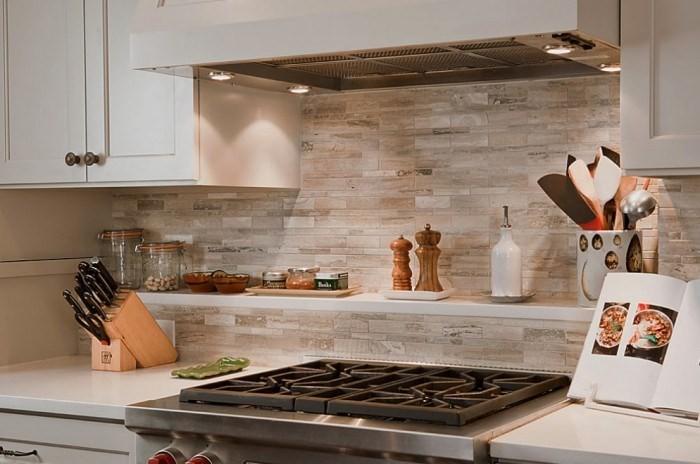 ниши из гипсокартона фото на кухне