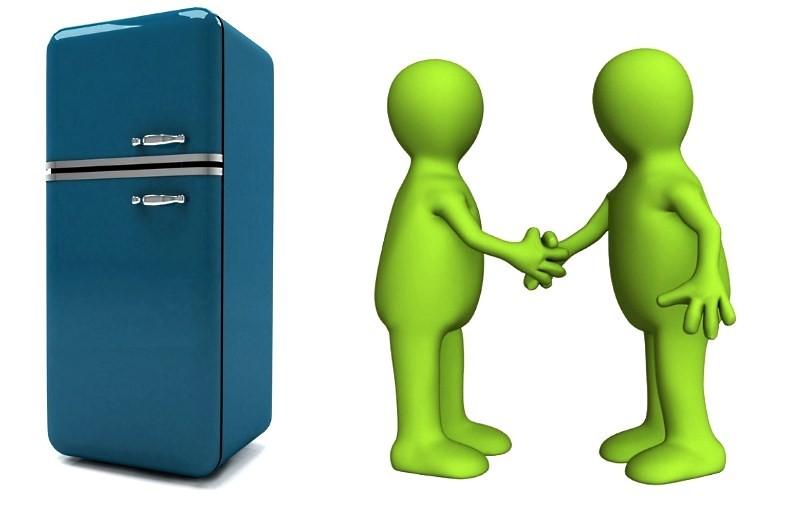 Доставка холодильника