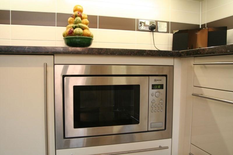 Встроенная микроволновая печь