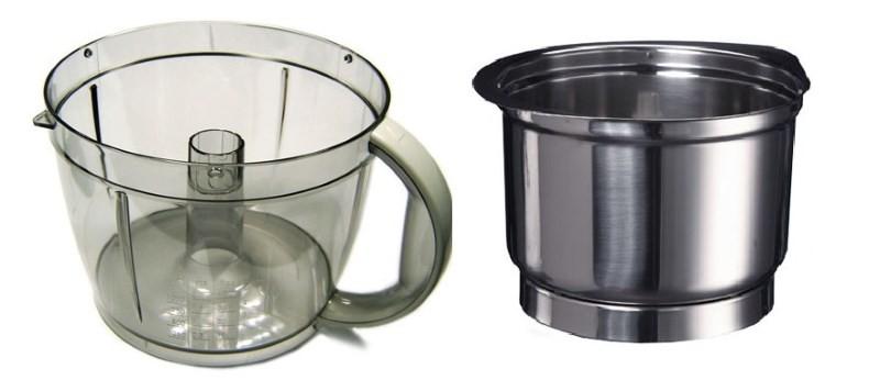 Чаши для кухонного комбайна