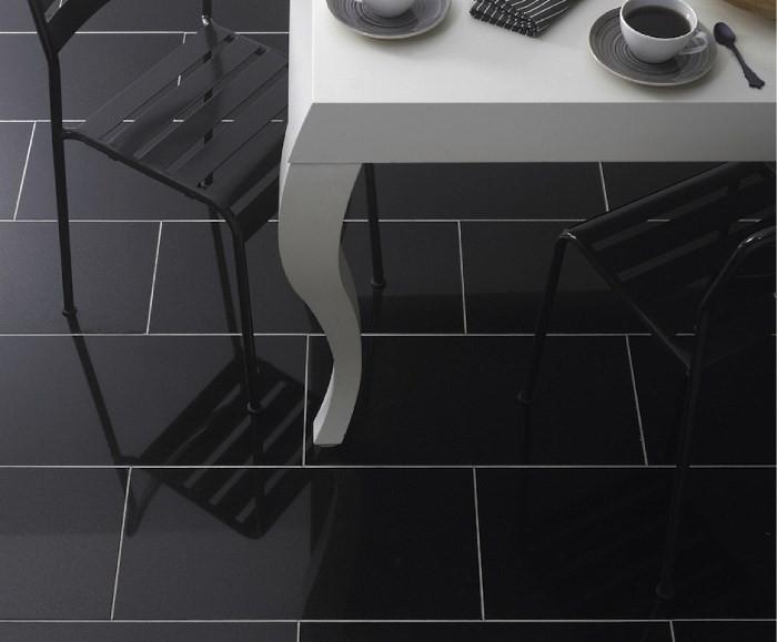 Дизайн полов из плитки на кухне: с чего начать и как выбрать?