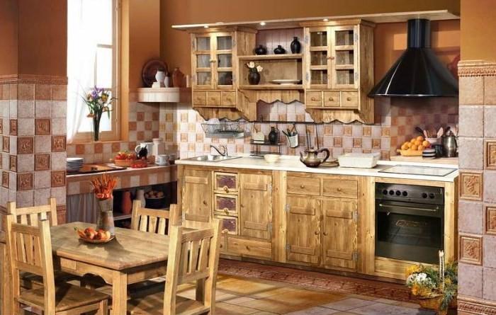 Кухня для дачи