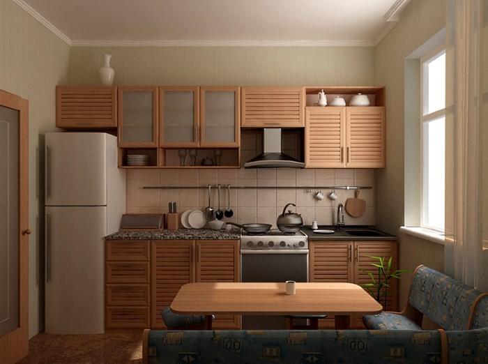 ремонт кухни фото 9.кв.м
