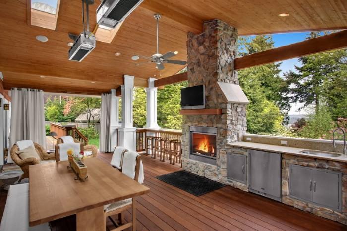 Как оформить летний домик Если