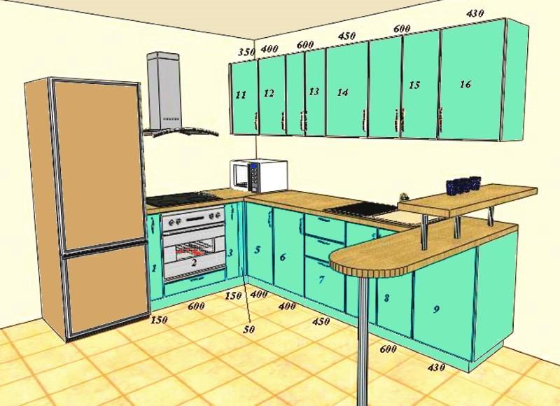 Расчёт Кухни Программа С Размерами - фото 7