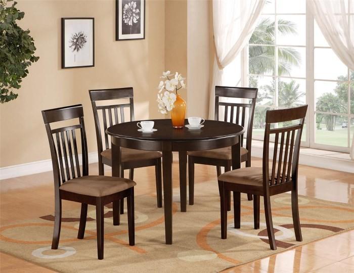 Круглый стол для кухни раздвижной деревянный вариант