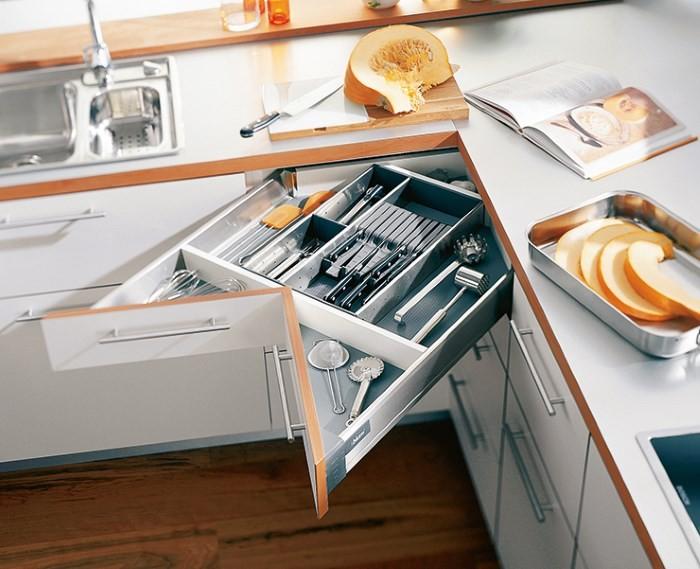 Угловой ящик кухонного гарнитура