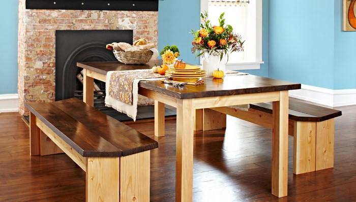 Как сделать из дерева стол своими руками