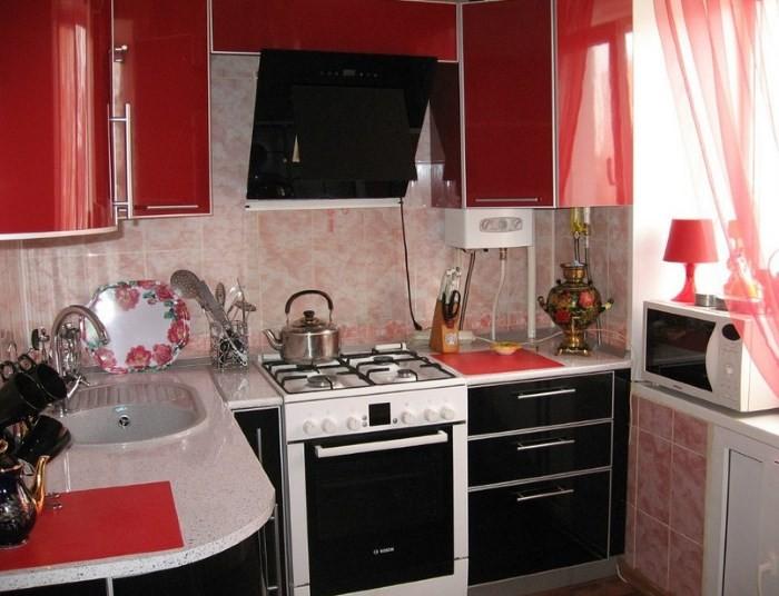 Мебель на кухне в хрущевке