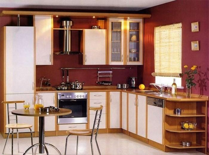 Вариант разделения плиты и холодильника
