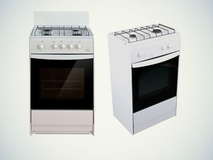 Двухкомфорочные газовые плиты Дарина