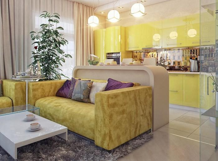 Кухня гостиная в доме: идеи дизайна интерьера совмещенных помещений