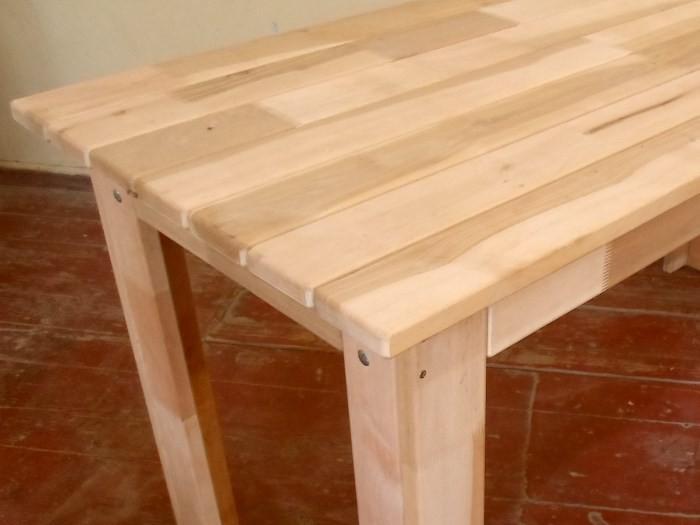 Самодельный кухонный стол из дерева своими руками 62