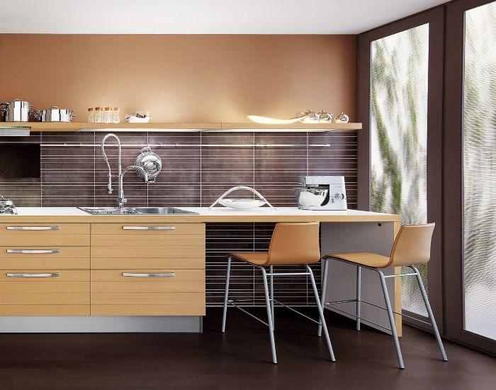 Столешница на кухне модерн