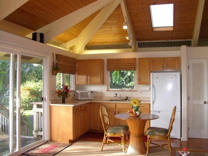 проекты кухни на даче фото