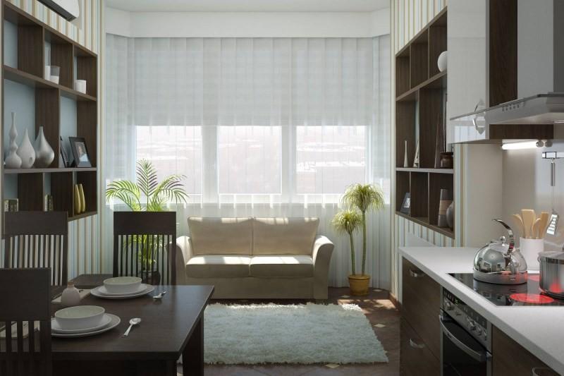 Диван для кухни: угловой, прямой или со спальным местом?
