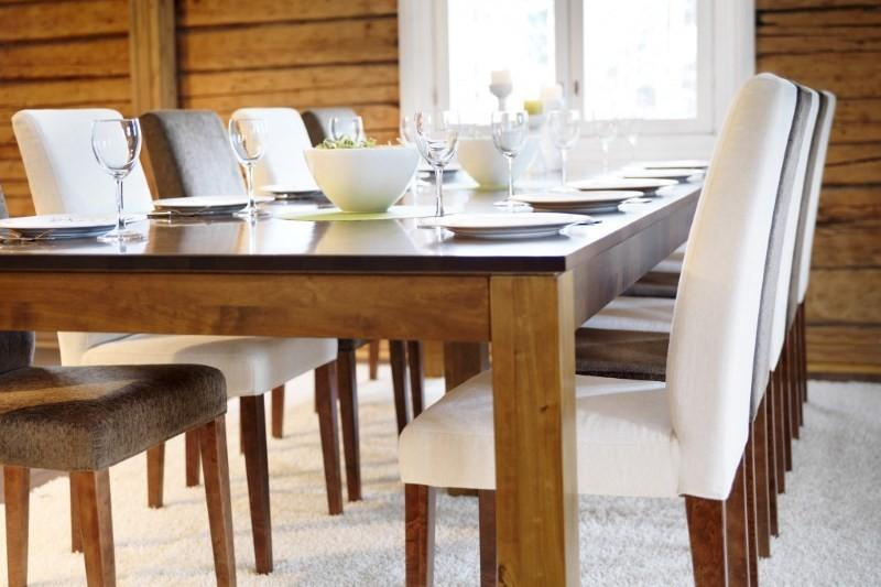 Обеденный стол размеры