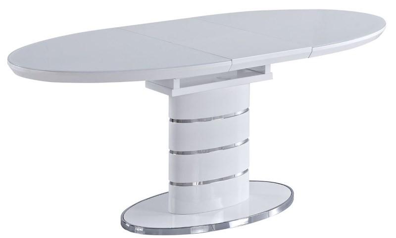 Небольшой круглый столик на одной ноге
