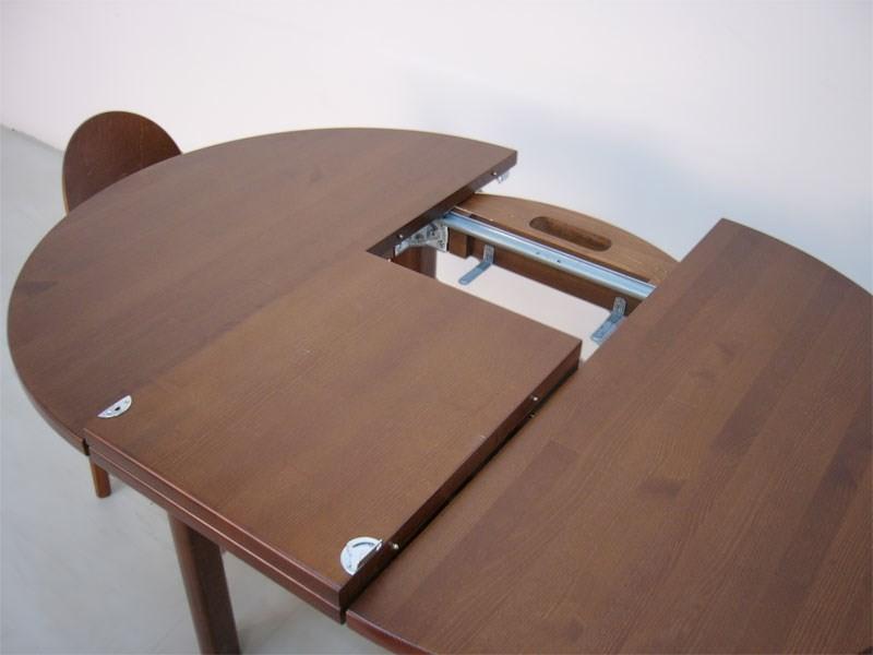 Раздвижной стол с центральной вставкой