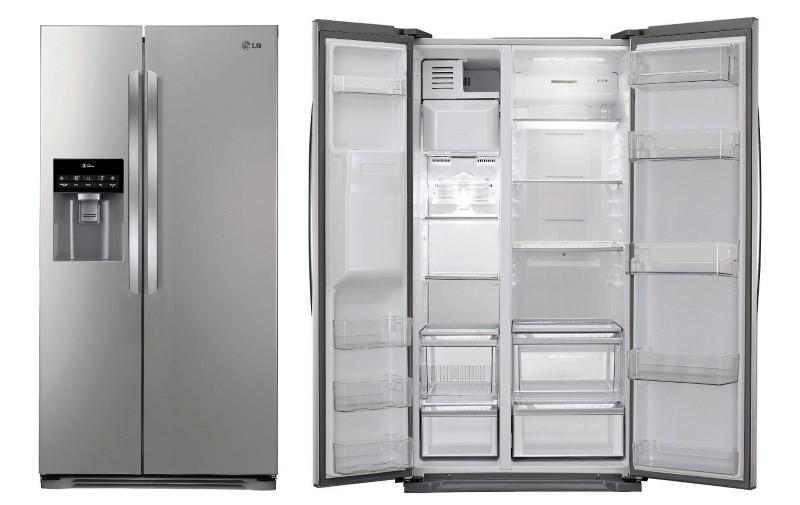 Широкий холодильник LG GC B207GEQV