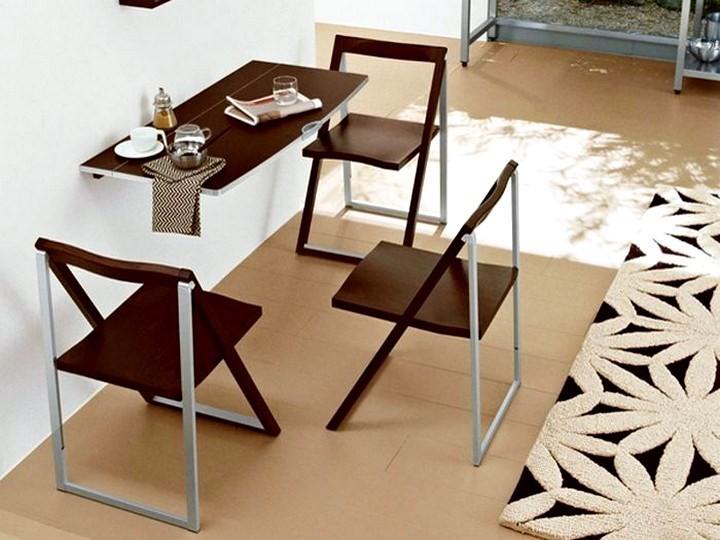 Кухонный стол откидной от стены