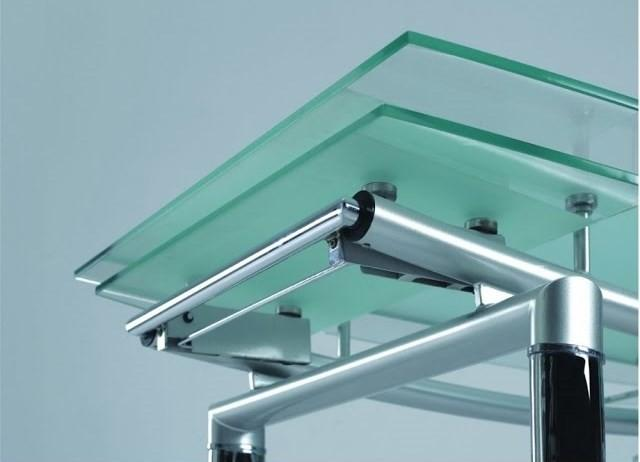 Стол трансформер из стекла
