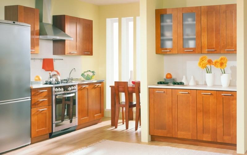 Газовая духовка на кухне