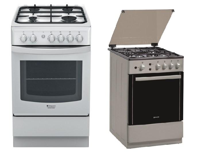Газовые духовки с плитой