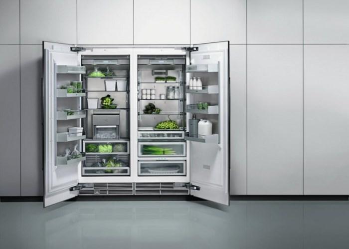 Холодильник Side by Side встраиваемый