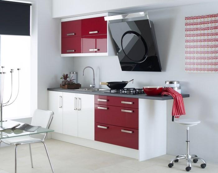 Компактный кухонный гарнитур