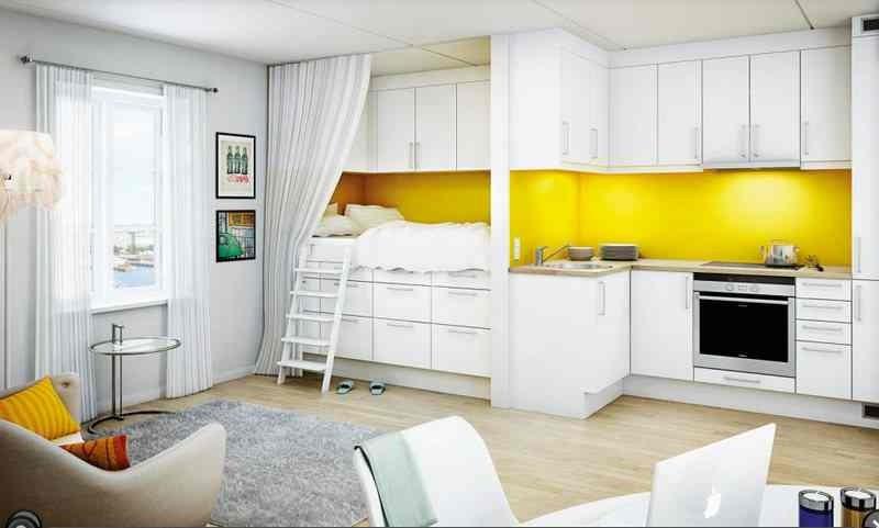 Однокомнатную квартира в остров Храни дешево