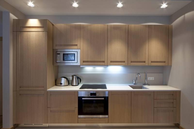 Кухня в песочном цвете дизайн