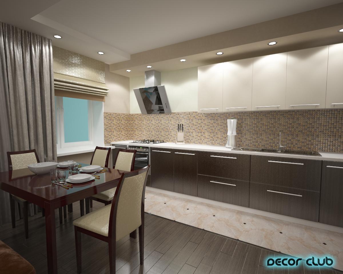 кухня в бежевых тонах фото дизайн