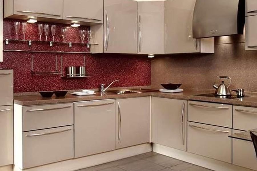 Дизайн кухни материалы