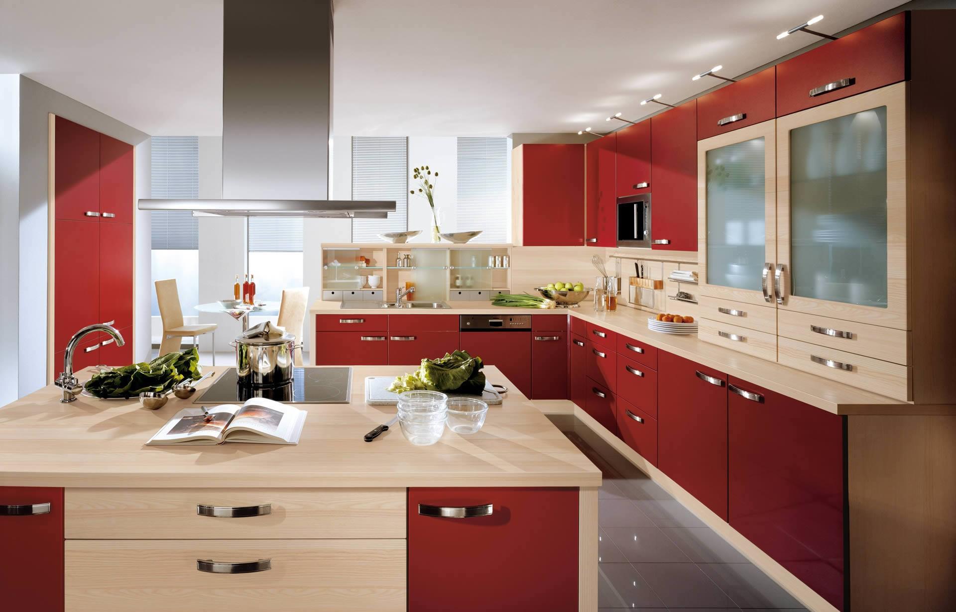 Дизайн красной кухни фото 2016 современные идеи фото