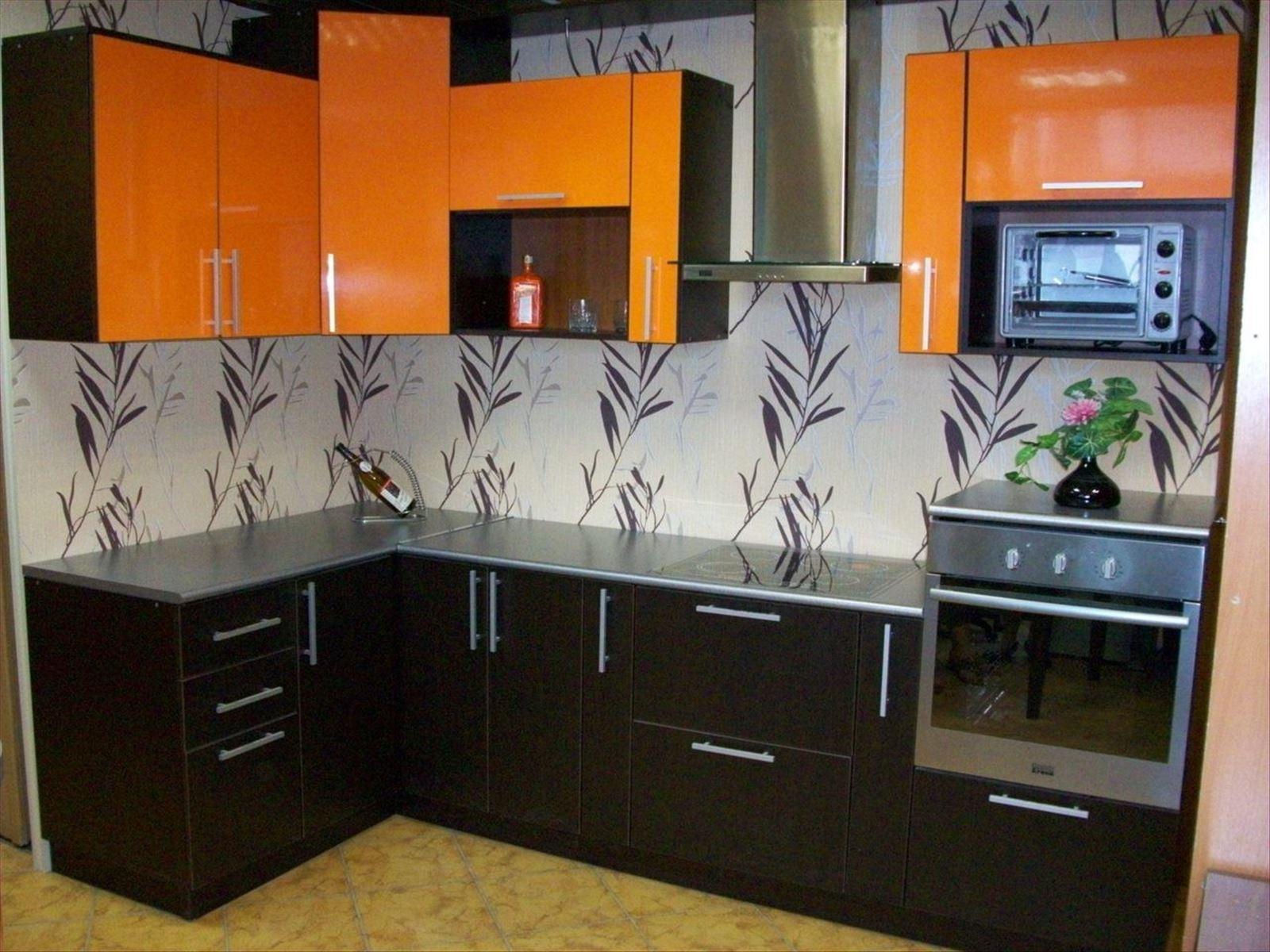 Кухня шоколадного цвета на заказ от производителя.