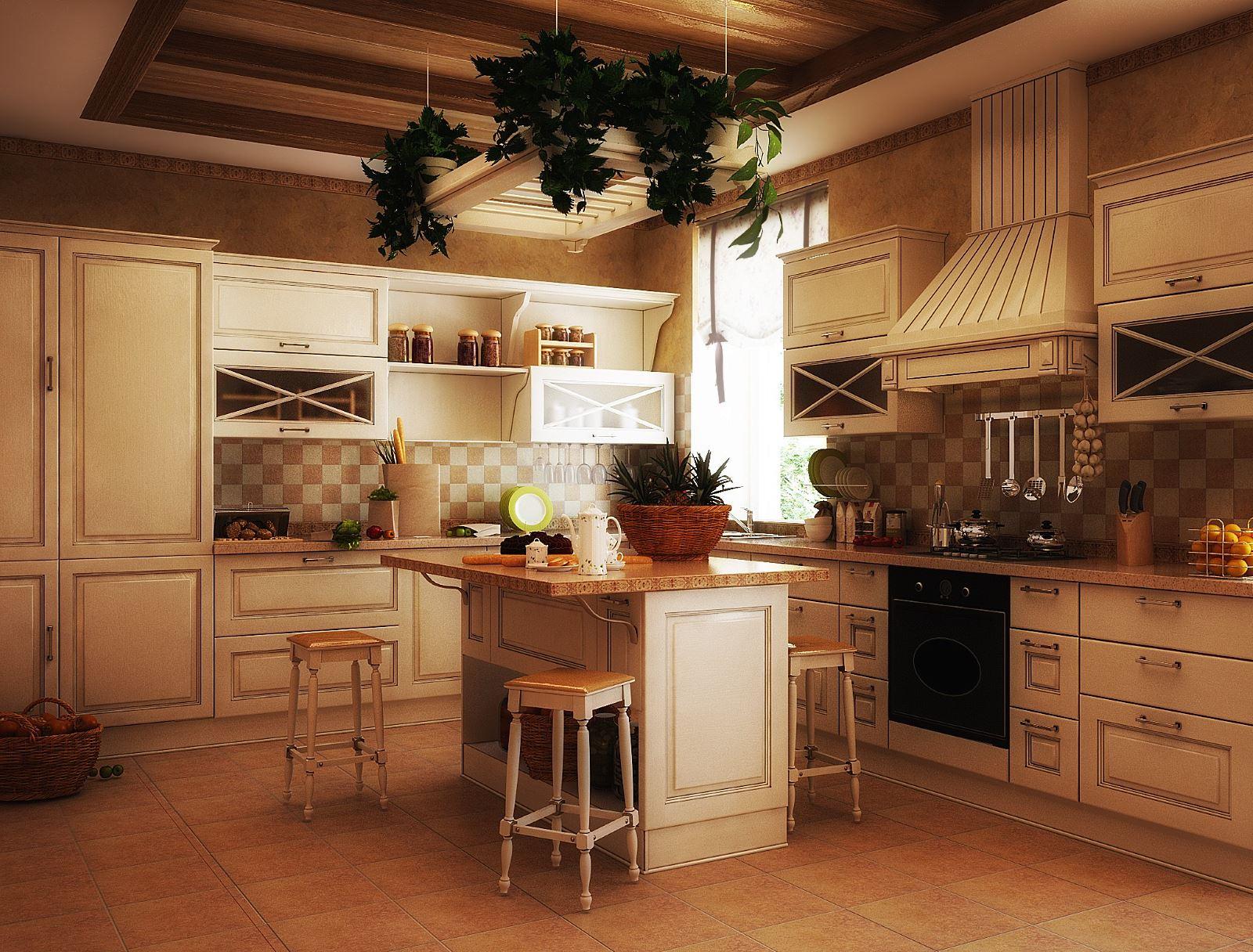 Кухня в стиле кантри фото интерьер своими руками фото 63