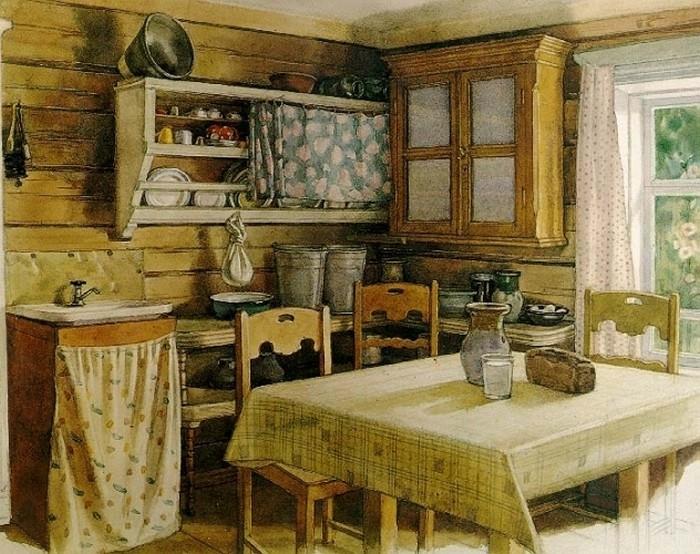 Дом в деревне своими руками фото